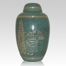 Black Forest Cremation Urn