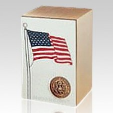 Air Force Bronze Flag Cremation Urn
