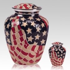 Americana Patriot Cremation Urns