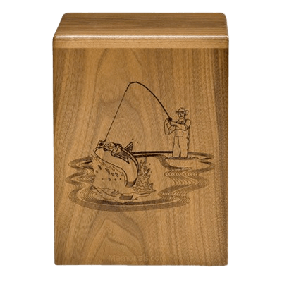 Fishing Sportsman Cremation Urns