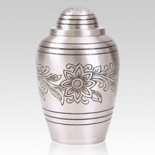 Pewter Bouquet Cremation Urns