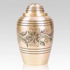 Brass Bouquet Cremation Urns