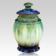 Blue Dream Keepsake Cremation Urn