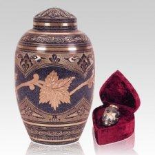 Patina Leaf Cremation Urns
