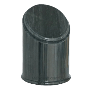 Crown Black Marble Urn