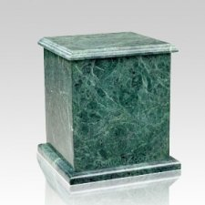 Eversquare Green Marble Urn