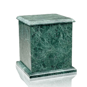 Eversquare Green Marble Cremation Urns
