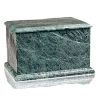 Evermore Green Marble Cremation Urns