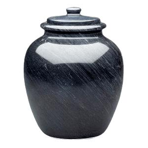 Legacy Black Marble Urn