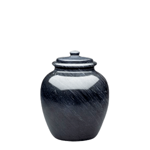 Legacy Black Keepsake Marble Urn