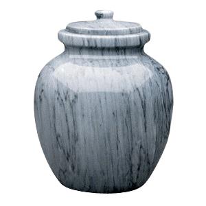 Legacy Grey Marble Urn