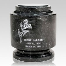 Estate Black Marble Urn