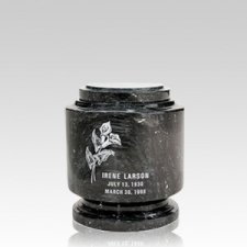 Estate Black Keepsake Urn