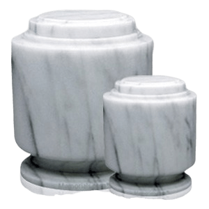 Estate White Marble Cremation Urns
