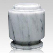 Estate White Marble Urn