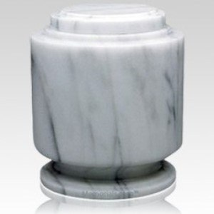 Estate White Marble Urn