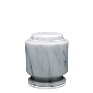 Estate White Keepsake Urn
