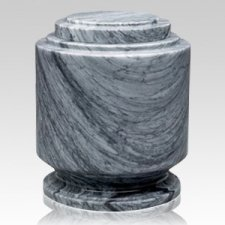 Estate Grey Marble Urn