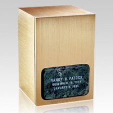 Memories Green Marble Cremation Urn