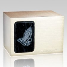 Memories Black Marble Cremation Urn