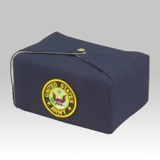 Blue Military Wrap Cremation Urn