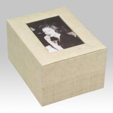 Natural Photo Biodegradable Cremation Urn