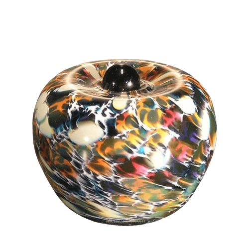 Feliche Glass Keepsake Cremation Urn