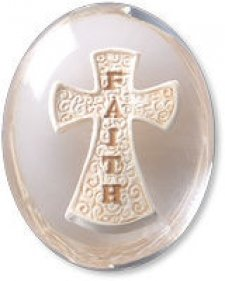 Faith Cross Comfort Stone Keepsake
