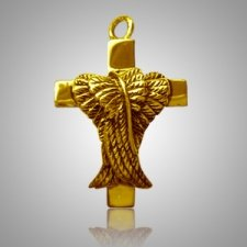 Winged Cross Keepsake Jewelry IV