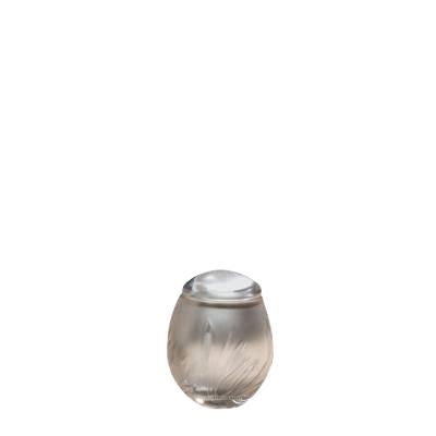 Crystal Bloom Glass Keepsake Cremation Urn