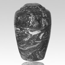 Ebony Marble Pet Cremation Urn