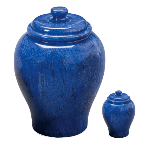 Blue Sky Marble Cremation Urns