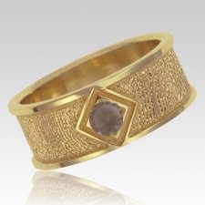 Topaz 14k Yellow Gold Ring Print Keepsake