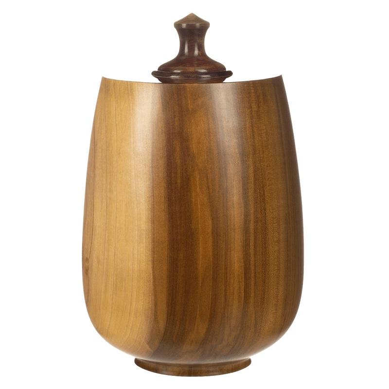Dapper Wood Cremation Urn