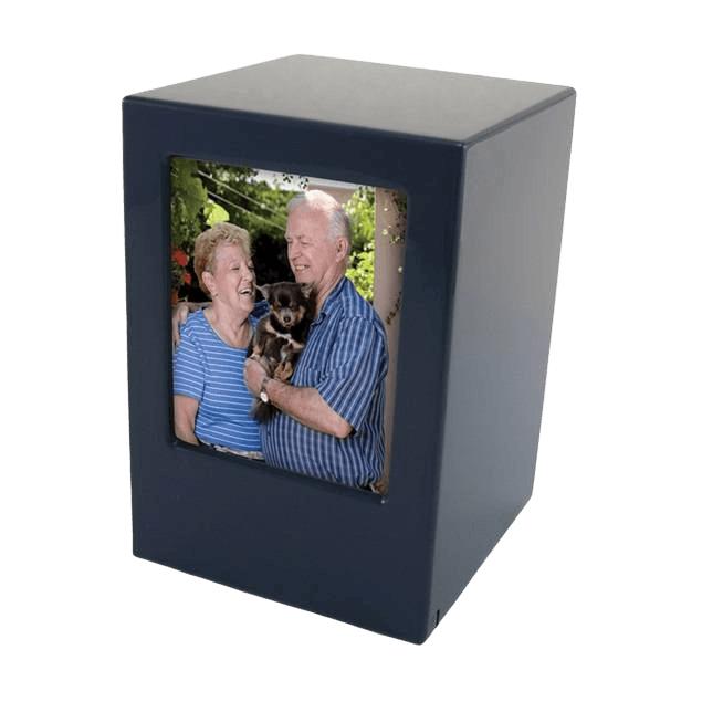 Bristol Wood Photo Cremation Urn