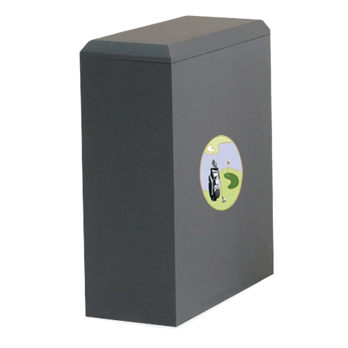 Irish Golf Cremation Urn