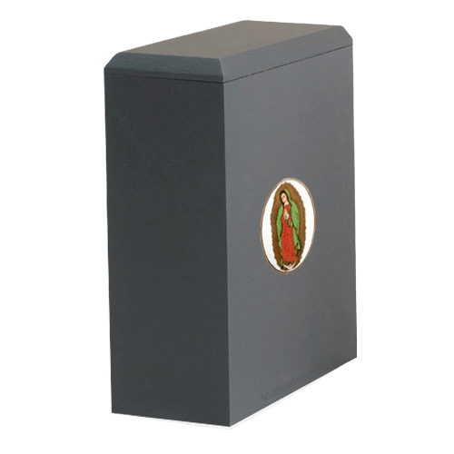 Irish Lady of Guadalupe Cremation Urn