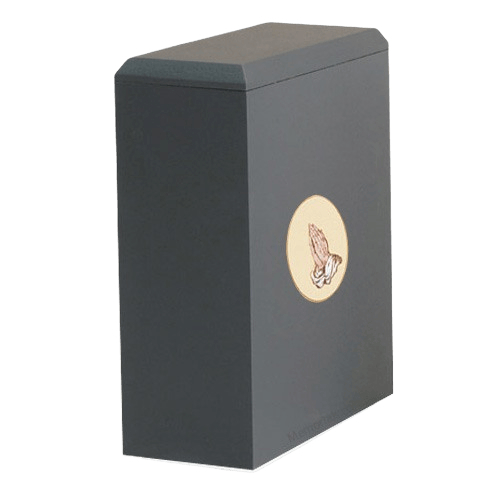 Irish Praying Hands Cremation Urn