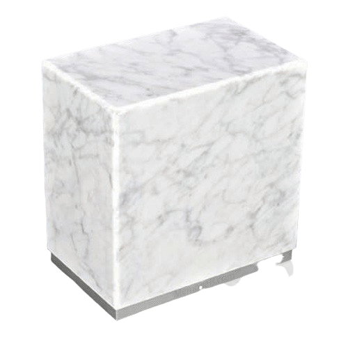 Dignity Silver Carrera Marble Urns