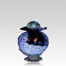 Diochroic Rainbow Keepsake Cremation Urn