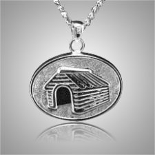 Dog House Cremation Pendant