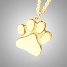 Signature Dog Paw Cremation Keepsake II