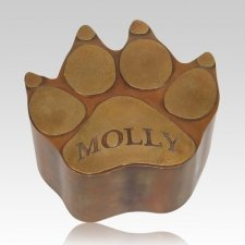 Dog Paw Cremation Urn