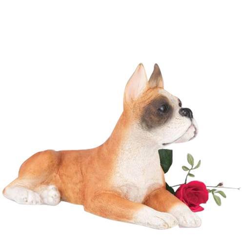 Boxer Dog Cremation Urn