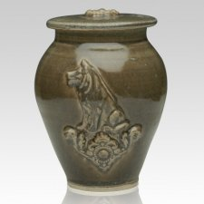 Dog Ceramic Cremation Urns