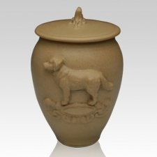 Doggy Ceramic Cremation Urns