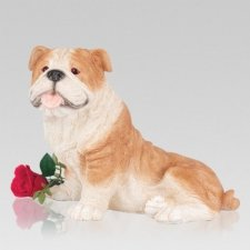 Bulldog Cremation Urn