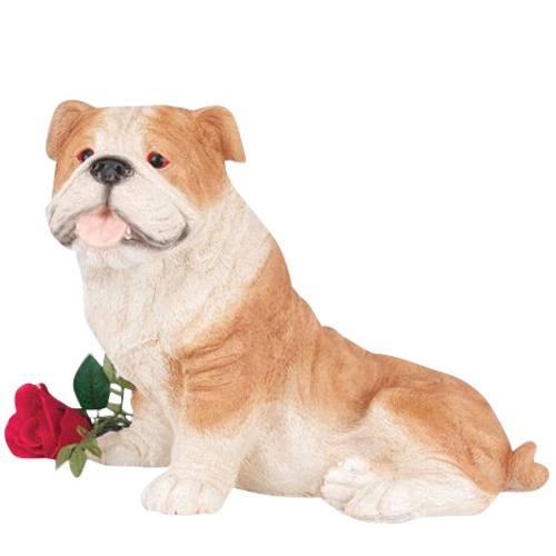 Bulldog Cremation Urn
