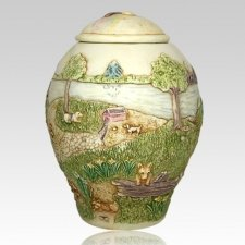 Rainbow Bridge Dog Cremation Urn