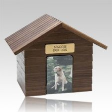 K-9 Cottage Dog Cremation Urn III